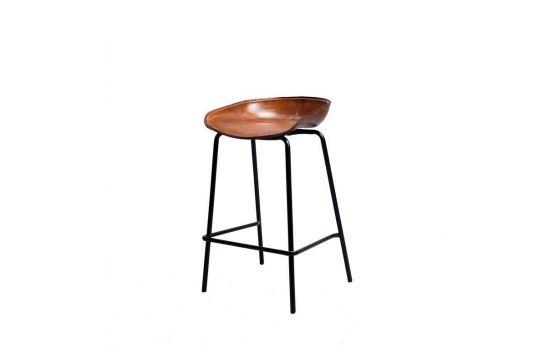 כיסא בר CHERRY קאמל