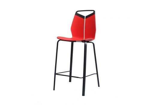 כיסא בר GRIPP אדום