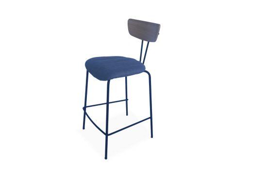 כיסא בר Munich כחול