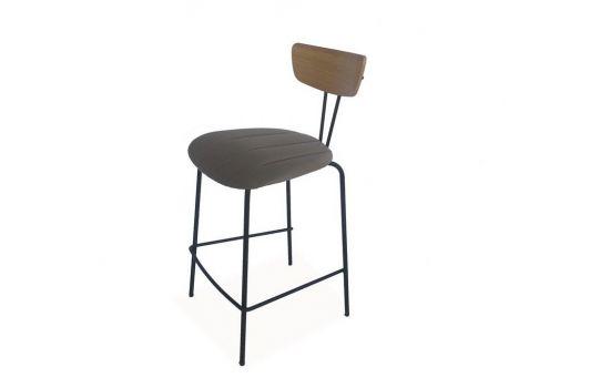 כיסא בר MUNICH אפור