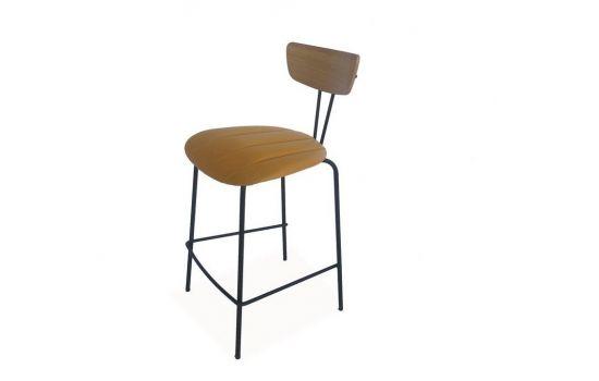 כיסא בר MUNICH חרדל