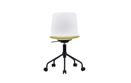 כיסא משרדי CARLO לבן