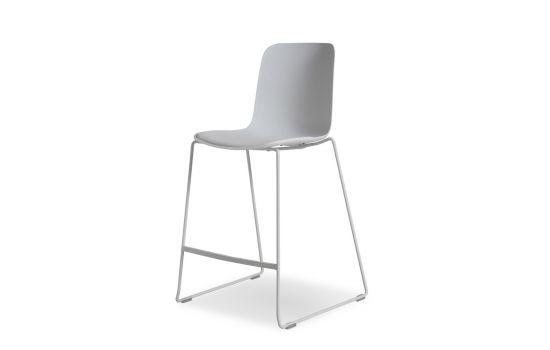 כיסא בר Sheer לבן