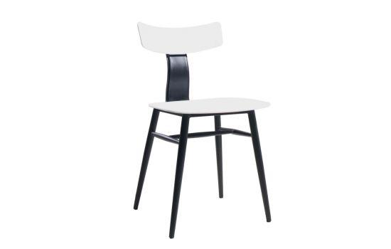 כיסא BAZIL שחור-לבן