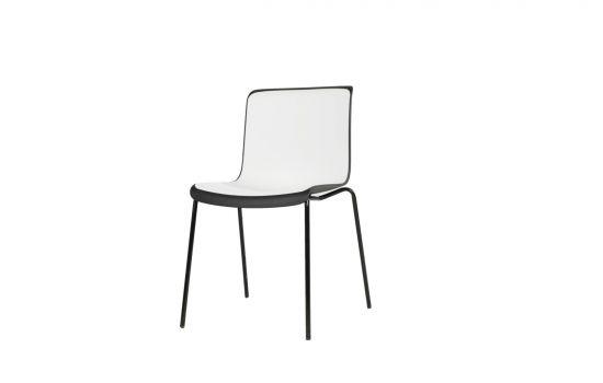 כיסא NOLY שחור-לבן