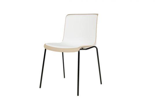 כיסא NOLY בז'-לבן