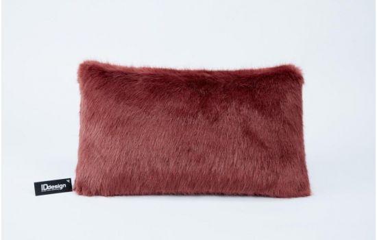 כרית COZZY אדומה מלבנית