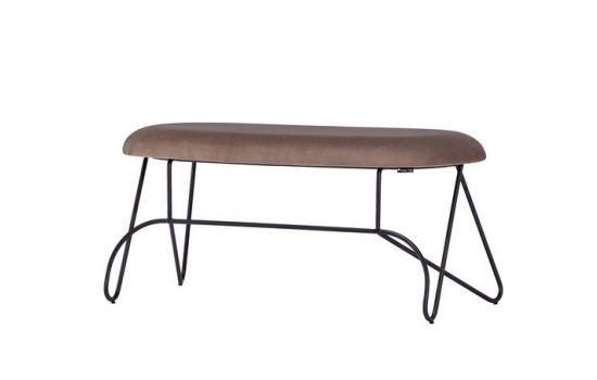ספסל LOOR רגל שחורה