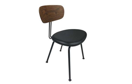 כיסא COLLAGE דמוי עור